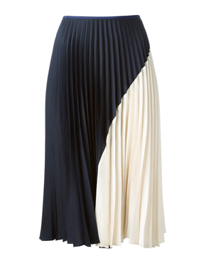 THEORY  pleated skirt