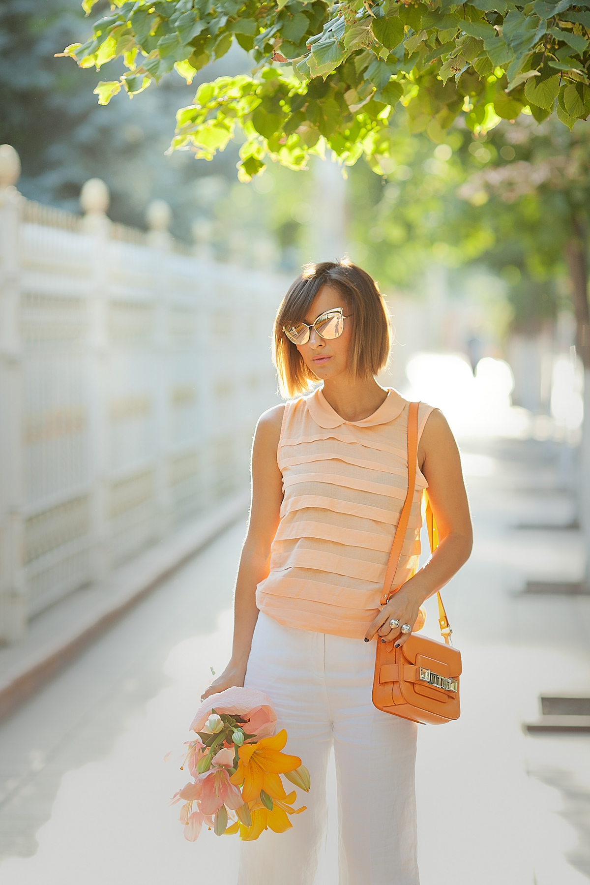 summer-outfit-with-peach-color-kotton-top-fashion-blogger-galant-girl