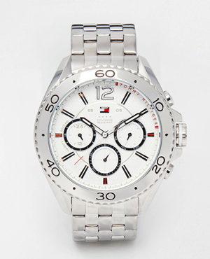 Tommy Hilfiger Grant Stainless Steel Watch