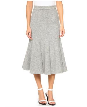 Nicholas Paneled Flare Skirt