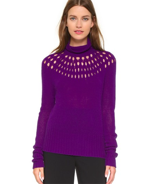 Tamara Mellon Merino Wool Sweater