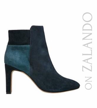 Chocolate Schubar High heeled ankle boots