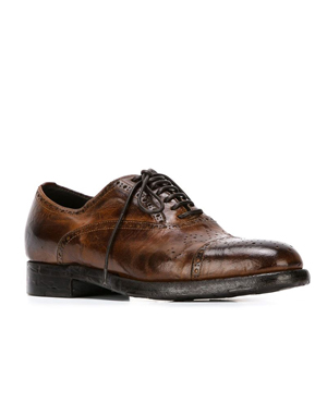 SILVANO SASSETTI  distressed brogues