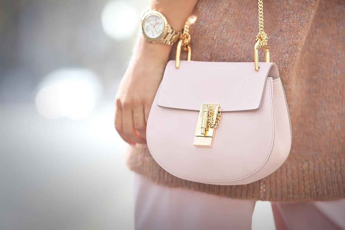 cement+pink+chloe+drew+bag