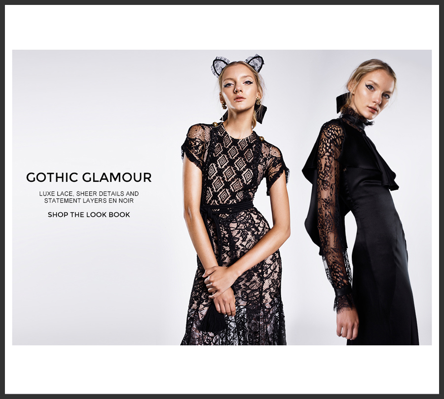 Shop The TREND – Gothic GLAMOUR!