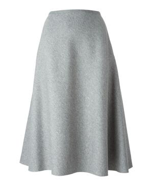 CÉDRIC CHARLIER  a-line skirt