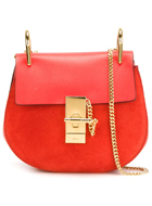 CHLOÉ  'Drew' shoulder bag in RED