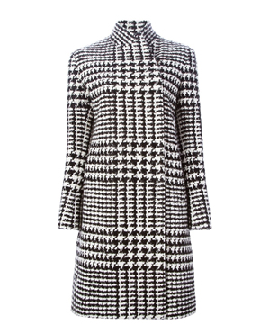 ERMANNO SCERVINO  Prince of Wales check coat