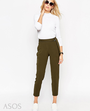 ASOS Jogger with D-Ring Detail