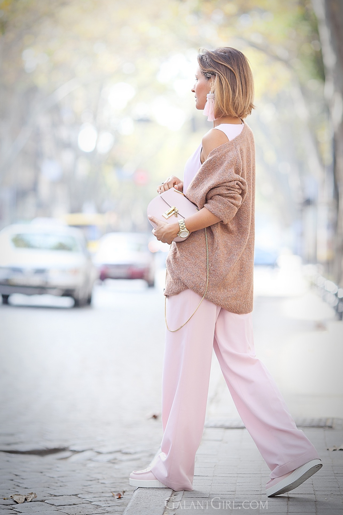 light-pink+outfit+chloe+drew+bag+outfit