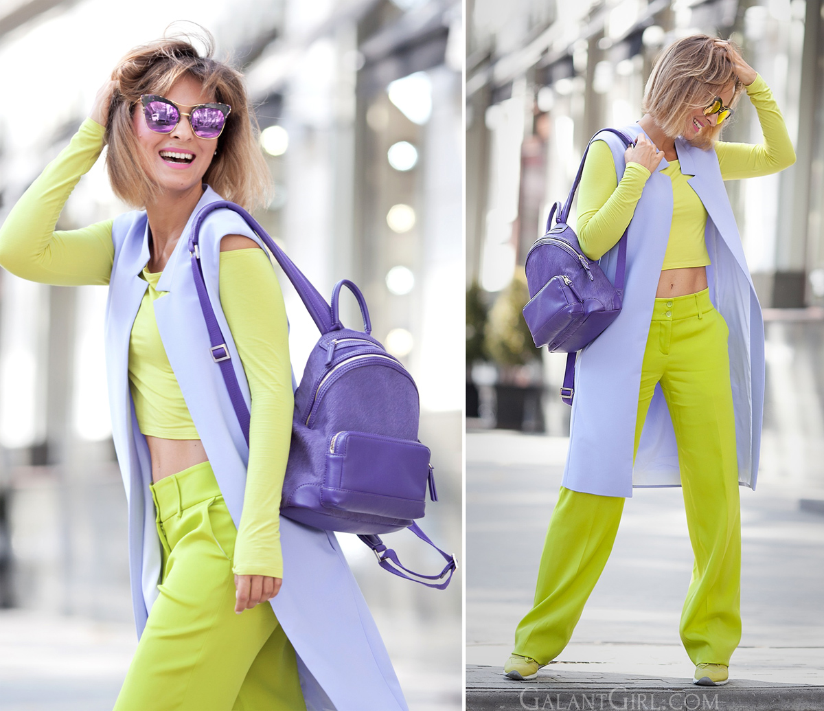 lime-green-trousers-pernelle+backpack-fall+outfit-fashion+blogger-ellena+galant