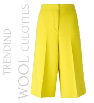 ODEEH  cropped trousers