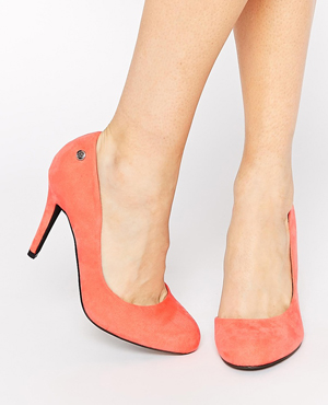 Blink Cut Out Heeled Shoes
