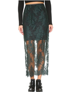 Femme D'armes Aude Lace Slip Skirt
