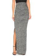 alice + olivia Octavia Fitted Maxi Skirt