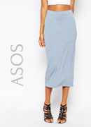 ASOS Column Pencil Skirt