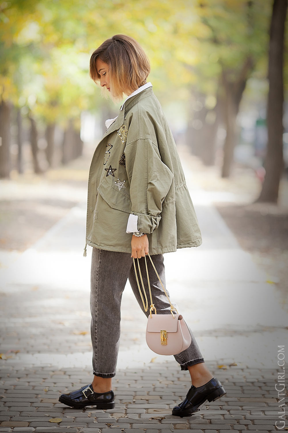 fall+outfits+parka+and+chlow+bag