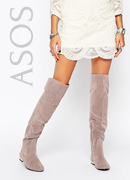 Daisy Street Over The Knee Boots