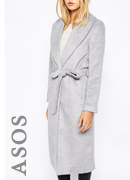 Missguided Belted Coat