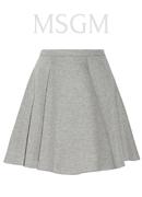 MSGM Scuba-jersey mini skirt