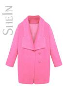 Pink Coat Sheinside ON SALE!