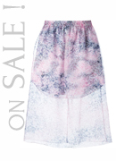 CARVEN layered skirt