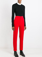 MSGM  high waisted trousers