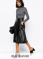 REAL Leather Skirt by Whistles