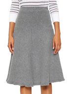 J.O.A. Knit Full Skirt