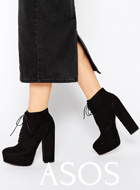 ASOS EPIC Lace Up Platform Boots