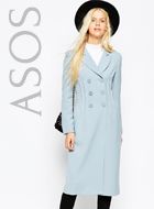 ASOS Coat In Tulip Fit