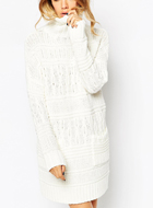 ASOS Chunky Cable Jumper Dress