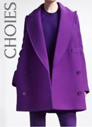 Purple Coat on CHOIES