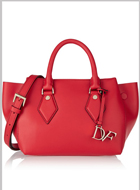 DIANE VON FURSTENBERG leather tote