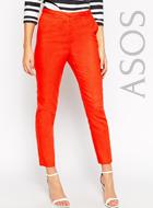 ASOS Slim Cigarette Linen Trouser