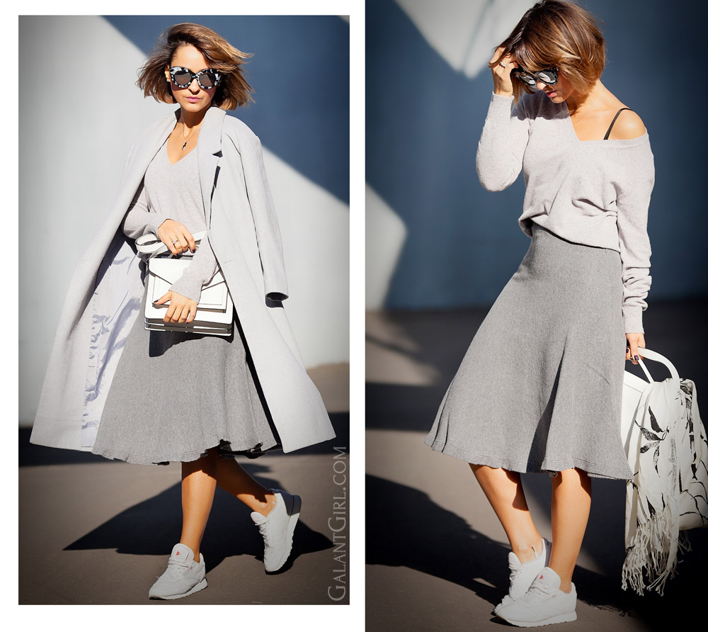 aec667de44bd How to wear knit skirt and look Chic! - Galant Girl – Блог о стиле и ...