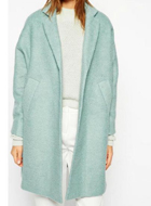 Green Woolen Coat