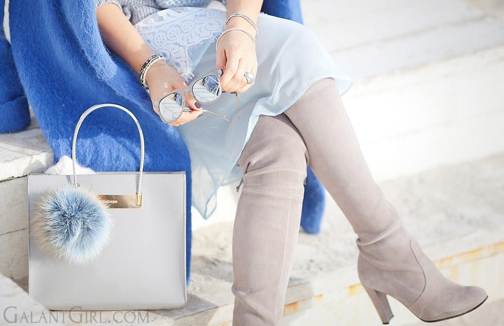 balenciaga+cable+shopper+bag-and-stuart+weitzman+highland+boots