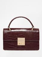 Glamorous Croc Clutch-bag