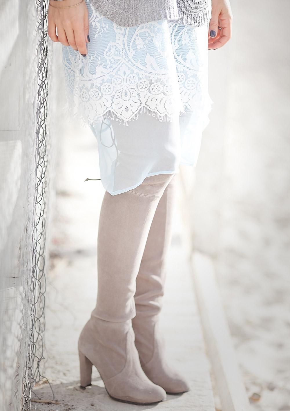 lace+hem+skirt