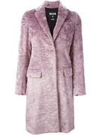 MSGM lilac coat