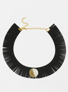 Suzywan DELUXE Faux Suede  Necklace