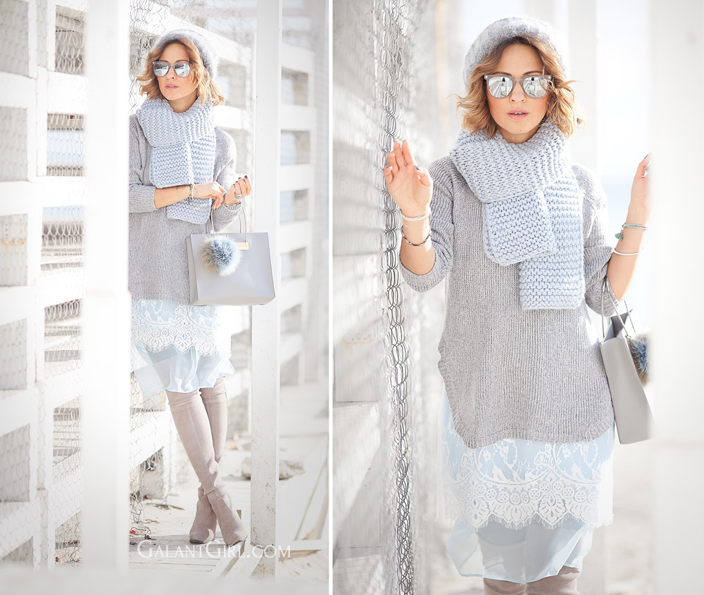 pastel+colors+outfit+with+lace+skirt