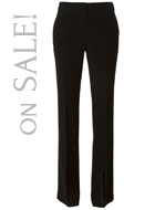 TORY BURCH  boot-cut trousers