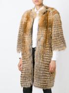 LISKA  fox fur coat