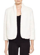 Cynthia Steffe London Faux Fur Jacket