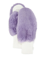 GP Luxe Rabbit Fur/Knit Mittens