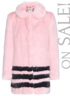 SHRIMPS faux-fur coat