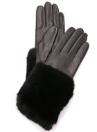 Carolina Amato Fur and Leather Gloves