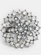 ASOS Vintage Rhinestone Clip On Brooch